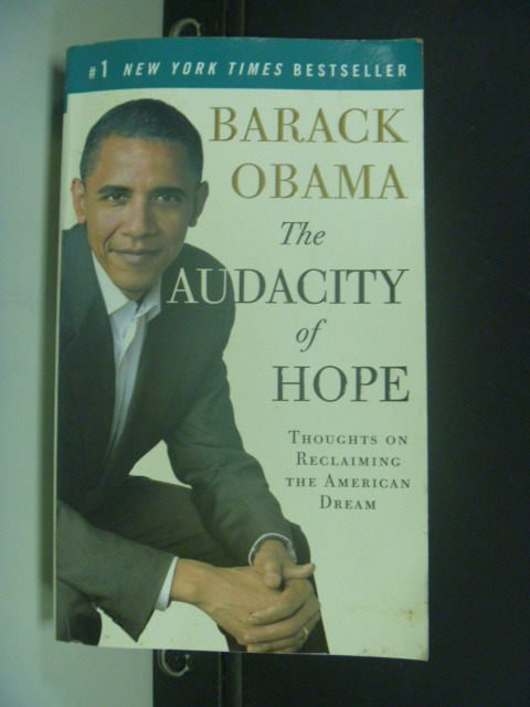 【書寶二手書T4/政治_ILL】The Audacity of Hope_BARACK OBAMA