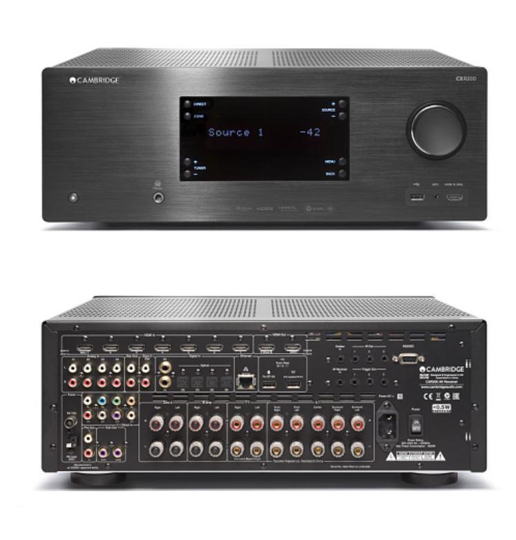 【CXR-200 AV收音機】Cambridge Audio 英國劍橋音響 家庭劇院 CD BD AV 擴大機 無線數位串流 藍芽 網路收音機