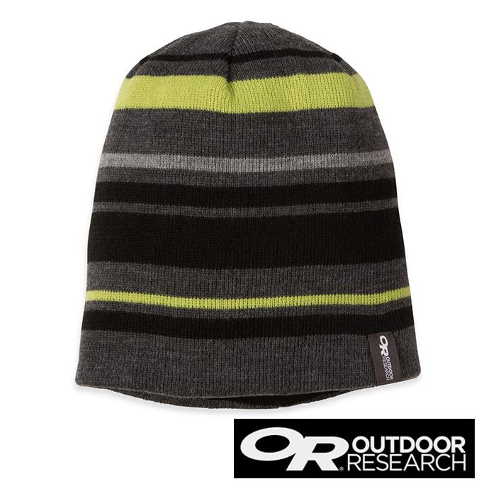 Outdoor Research VIVID 編織毛線帽『碳灰』86433│旅行│保暖帽│遮耳帽