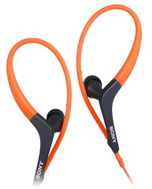SONY 入耳式耳機 MDR-AS400EX 運動款 抗汗 立體聲 完美音質 扁線【公司貨】