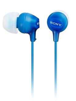 SONY 耳道式耳機 MDR-EX15LP 防纏結構 輕巧時尚 繽紛4色彩【公司貨】