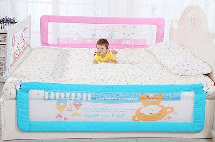 妙心 高品質 厚薄床墊通用款 床護欄 床欄 1.8米 至尊版66cm 加棉防撞 適合掀床 平板床