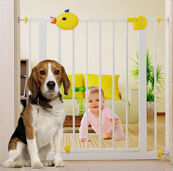 寶貝鴨鴨 baby safe兒童安全門欄 嬰兒圍欄 狗柵欄 樓梯防護欄 圍欄 自動雙向開關 2013款