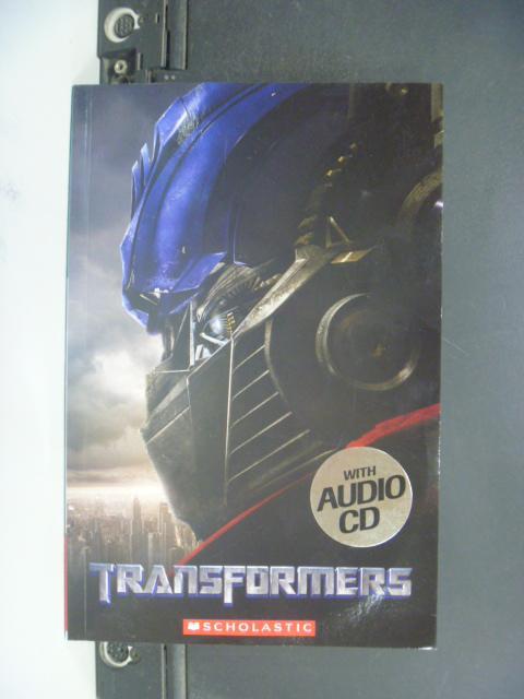 【書寶二手書T9/一般小說_NAM】Transformers with CD_Scholastic UK