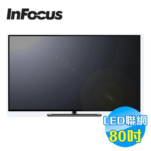 鴻海 INFOCUS 80吋 聯網LED液晶顯示器 XT-80CM800