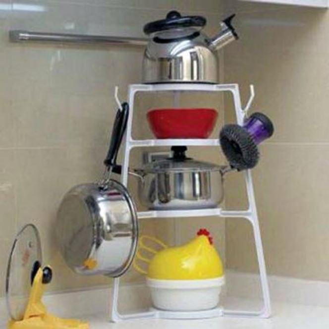 廚房多功能鍋架多用途組合層架簡易廚具收納架 159元