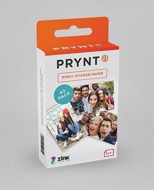 Prynt拍立殼_手機變身拍立得_專用底片40張,zink 2x3