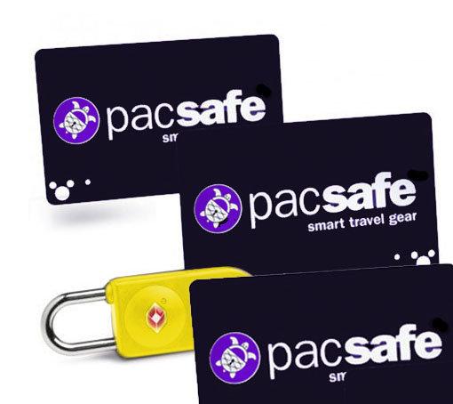 澳洲 PacSafe Prosafe 750 黑 黃 海關鎖|密碼鎖|卡片鎖|行李箱|旅行箱 TSA PAPE270