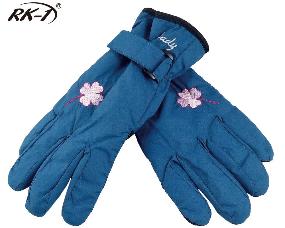 小玩子 RK-1 女用 手套 保暖 防寒 防潑水 鬆緊帶 止滑 柔軟 好看 水藍色 騎車 機車
