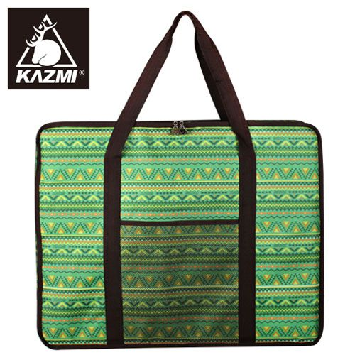 【露營趣】中和 KAZMI K4T3B006 經典民族風折疊桌收納袋 適用SWISS MILITARY S3T3U015 行動廚房