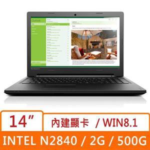 Lenovo 聯想  Idea-100 80MH0045TW 14吋 Intel 雙核輕薄筆電