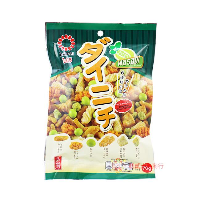 【0216零食會社】泰國-日式綜合豆米果(芥末)