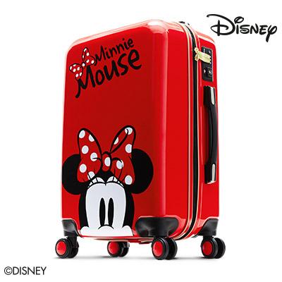 【加賀皮件】Deseno Disney 迪士尼 米妮 米奇奇幻旅程 24吋 PC鏡面 多色 拉鍊箱 旅行箱 行李箱 CL300