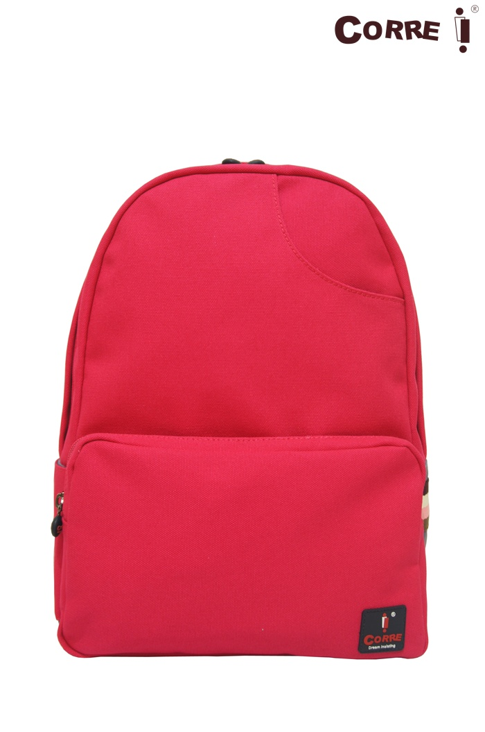 CORRE【CG71068】帆布經典後背包共四色 紅/藍/桃紅/橘