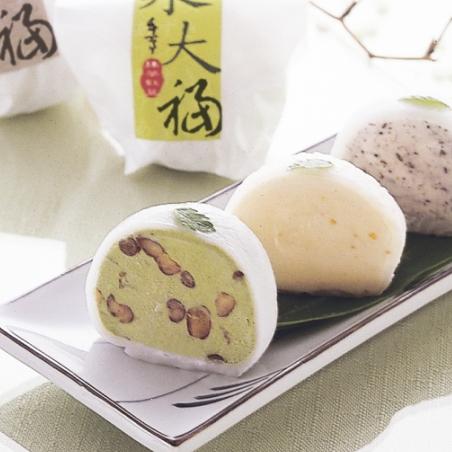 【枝仔冰城】冰品禮盒組│和風冰大福9入★甜點風的新食感冰淇淋★送禮的最佳選擇!!