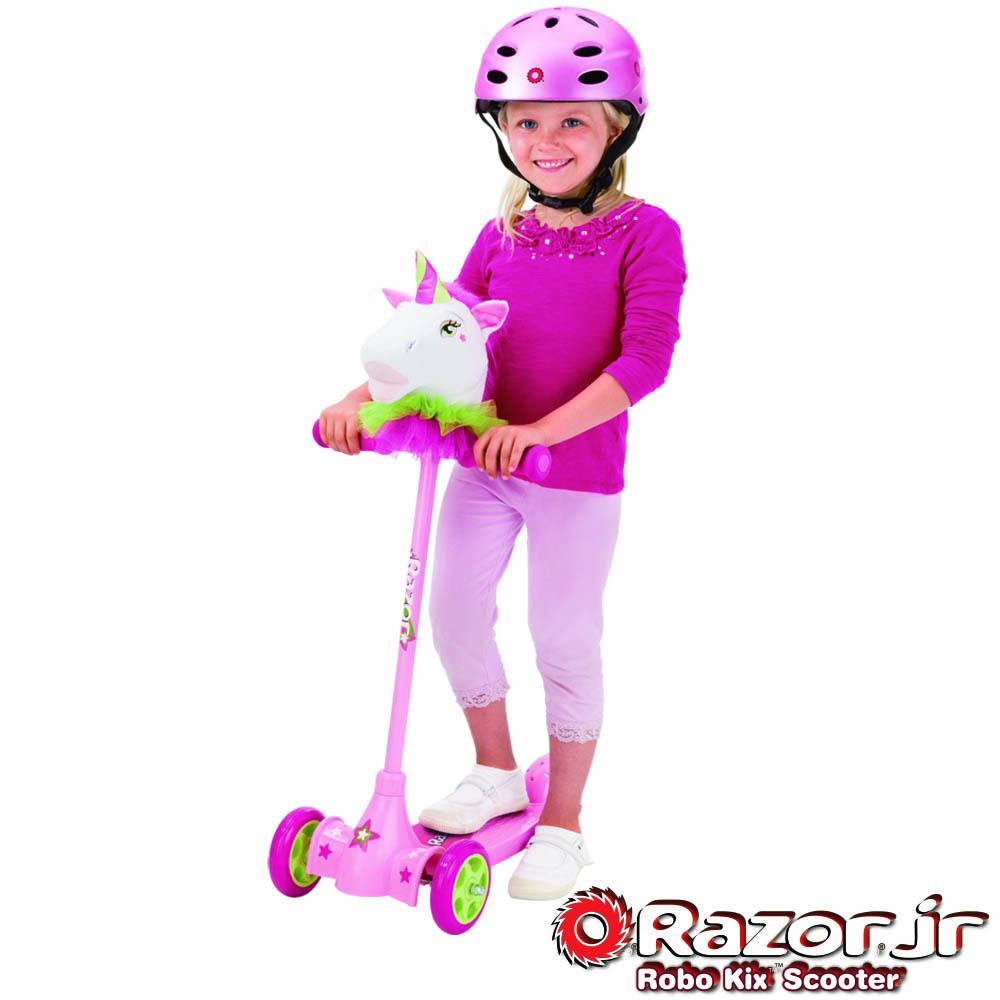 【美國 Razor】Kuties Scooter-Unicorn二合一 獨角獸(兒童可愛滑板車)