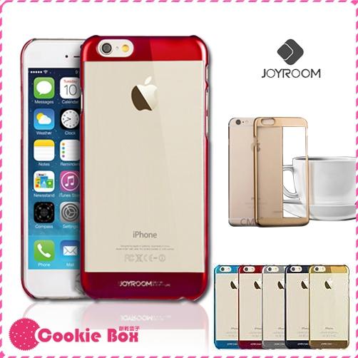 *餅乾盒子* JOYROOM 電鍍 金屬色 iphone6 6S plus 手機殼 硬殼背殼 保護殼 保護套