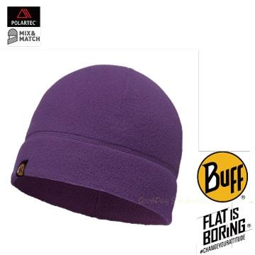 ├登山樂┤西班牙 BUFF POLAR保暖帽-素面紫 # BF110929-541-10