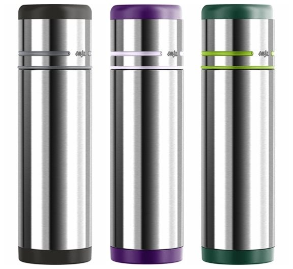 德國EMSA 隨行保溫瓶-0.5L 翠綠(512959)/銀灰(509237)/紫羅蘭(509226) 德國