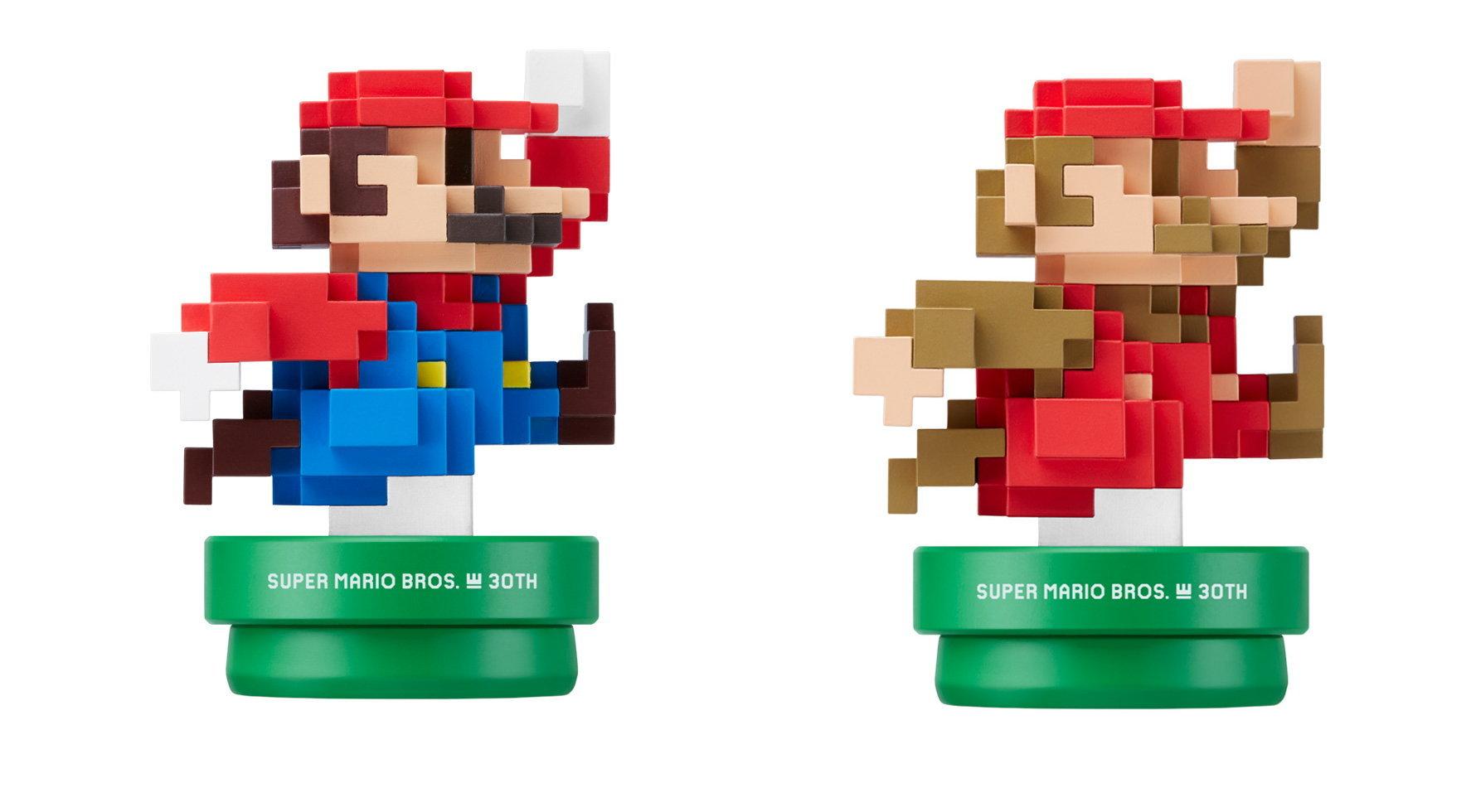 日版 amiibo 任天堂 Super Mario 超級 馬力歐 馬莉歐 30周年 現代款+經典款 一套兩隻