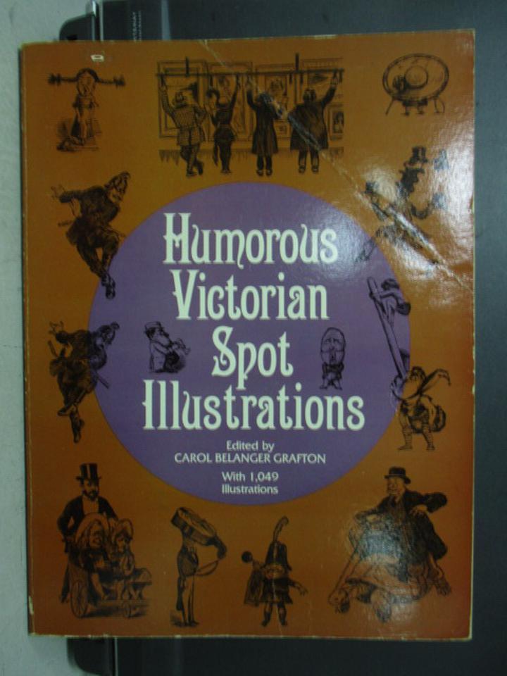 【書寶二手書T9/原文書_PAF】Humorous victorian spot illustrations_1985