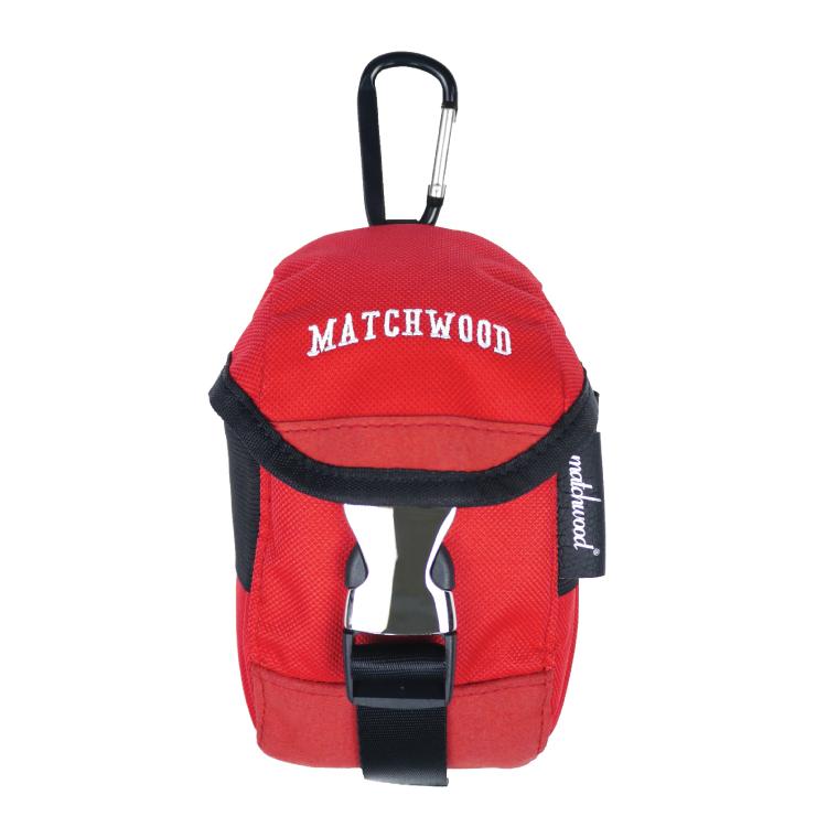 REMATCH - Matchwood Flash 手機腰包 紅色款 掛腰包 手機包 手機袋 附掛勾 Herschel / Supreme / HEADPORTER 可參考
