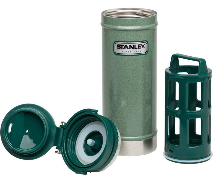 【鄉野情戶外專業】 Stanley |美國|  經典系列保溫咖啡壓濾杯組/304不鏽鋼保溫杯/10-01855 【473ml】