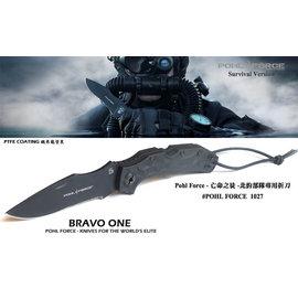 Pohl Force 波爾武力 - Bravo One北約部隊專用刀 -亡命之徒 (半齒) -#POHL FORCE 1027