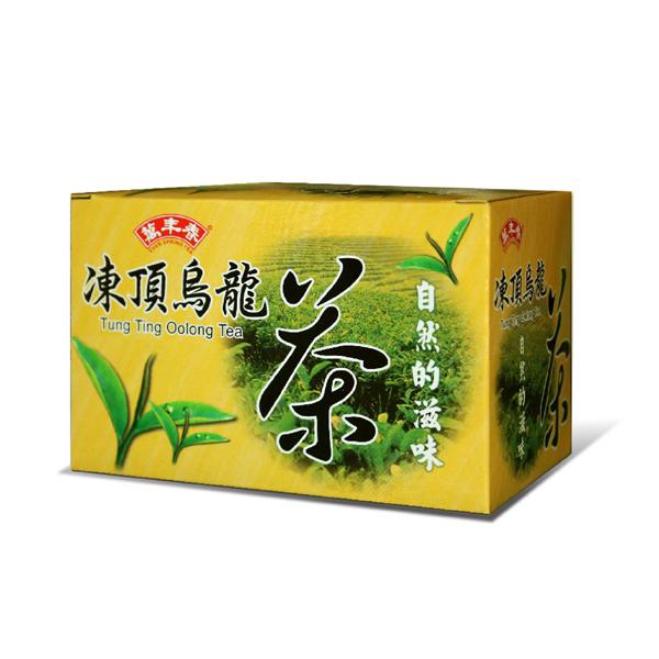 《萬年春》自然的滋味凍頂烏龍茶茶包2g*20入/盒