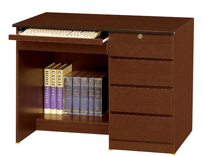 【尚品家具】JF-352-3 資訊3.5尺胡桃電腦書桌下座