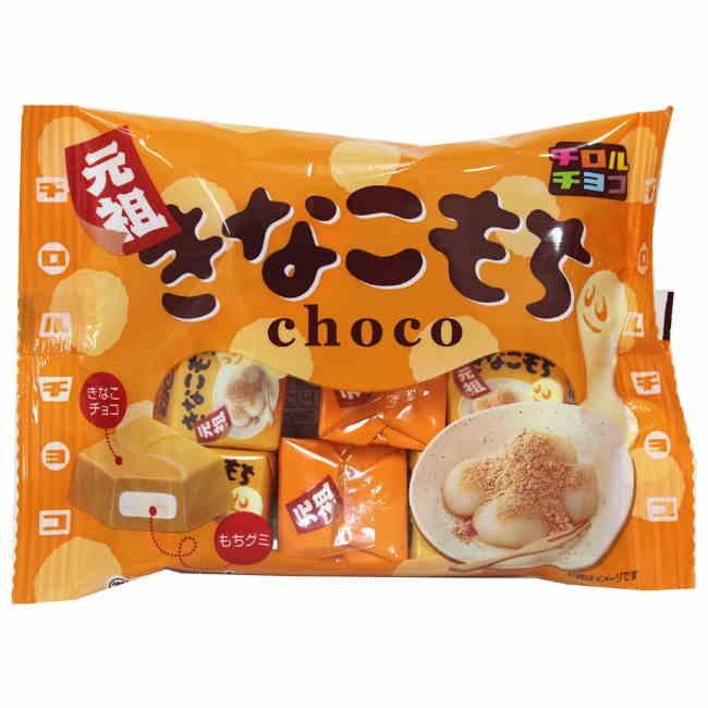 松尾黃豆粉巧克力