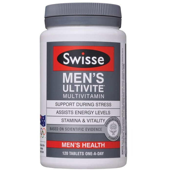*預購* Swisse Men's Ultivite Multivitamin 男性綜合維他命 120顆