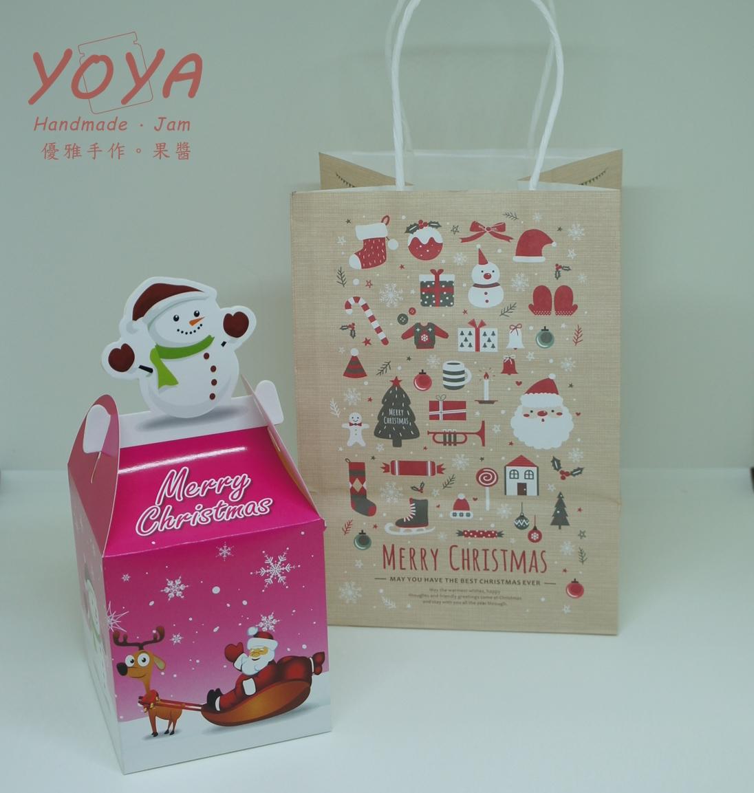 **禮盒加購**優雅手作 X 聖誕節禮盒(雪人)