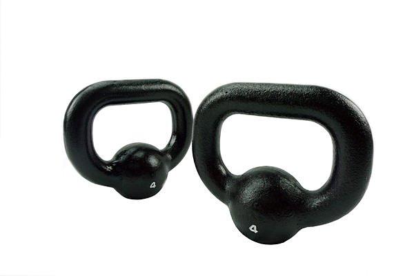 XOANON - [ 優惠組 ] 鑄鐵壺鈴 4公斤、女性鍛鍊手臂線條、4公斤壺鈴 、輕量訓練、輕鬆練手臂線條