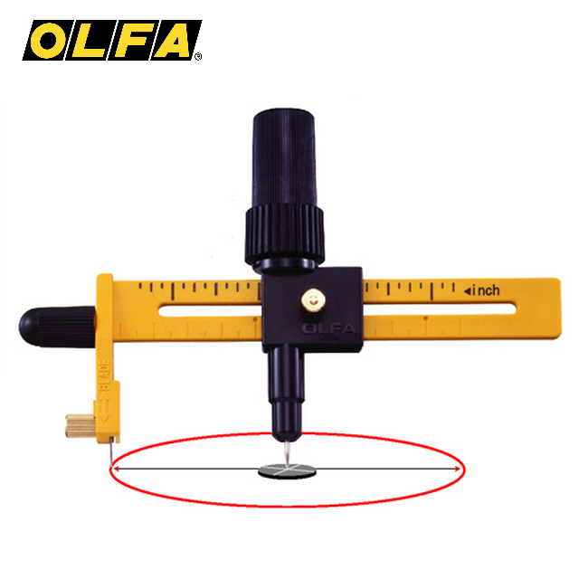 OLFA 日本 CMP-1/DX 豪華型大圓規刀 ( 1.6cm ~ 22cm )