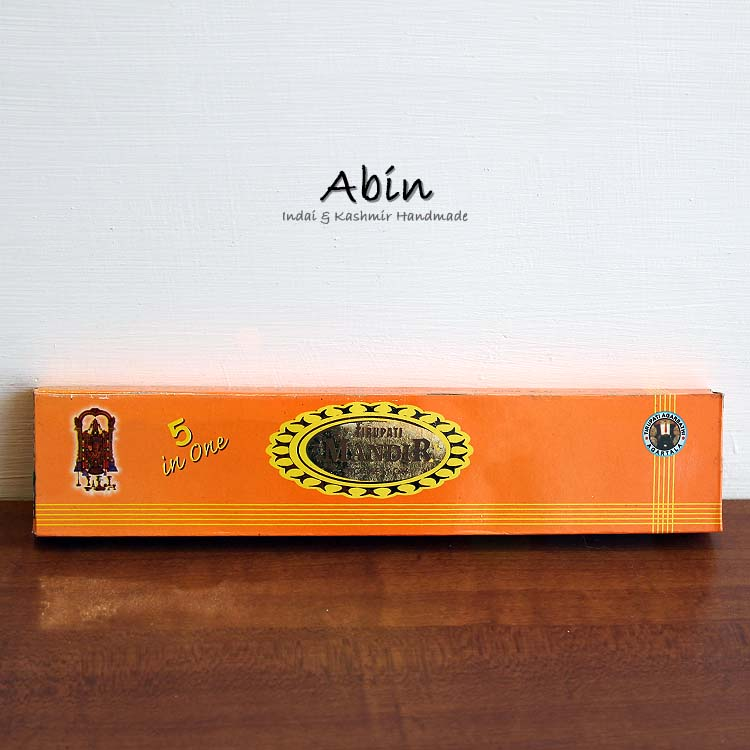 【 Abin handmade】India Oil Incense 印度精油線香 -#06 印度聖香 5 in 1