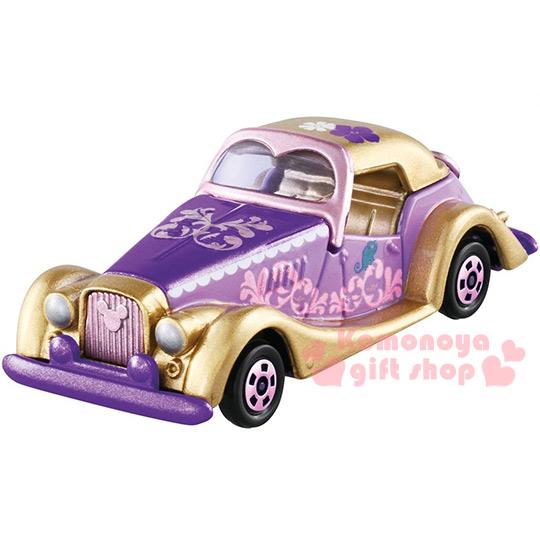 〔小禮堂〕魔髮奇緣 TOMICA小汽車《紫金.DM-08》經典造型值得收藏