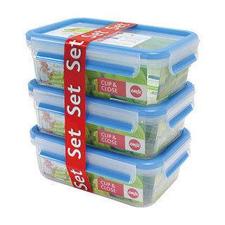 德國EMSA 3D保鮮盒(514584) 1.0L三件組