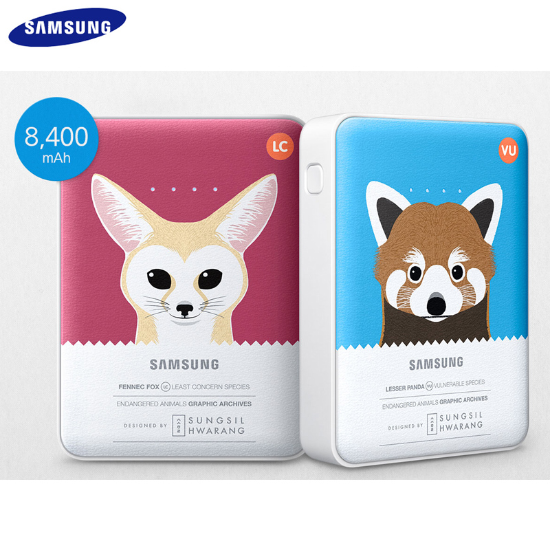 SAMSUNG 原廠限定動物版 8400 行動電源/Samsung Galaxy Tab Pro 8.4 T320/Tab3 Lite/HTC Desire 816/EYE/820/620/526G/816G/626/826/One X/V/SV/SC/S/mini2/max/M8/E8/M9/E9+/M9+/Butterfly s 蝴蝶機/HTC J