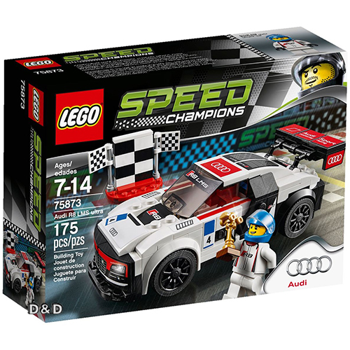 樂高積木 LEGO《 LT75873 》SPEED CHAMPIONS 系列 - Audi R8 LMS ultra