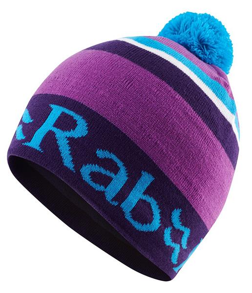 【鄉野情戶外專業】 Rab |英國|  BOB BEANIE 保暖帽/毛帽 毛線帽/-紫百合-QAA-32