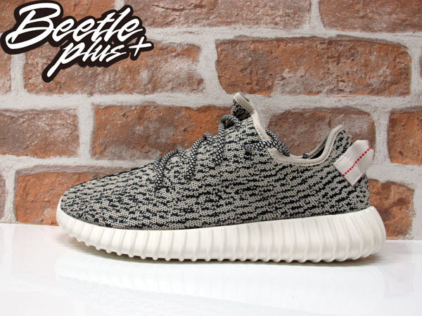 BEETLE PLUS ADIDAS ORIGINALS YEEZY BOOST 350 KANYE WEST 灰白 黑白 米白紅 編織 低筒 慢跑鞋 AQ4832