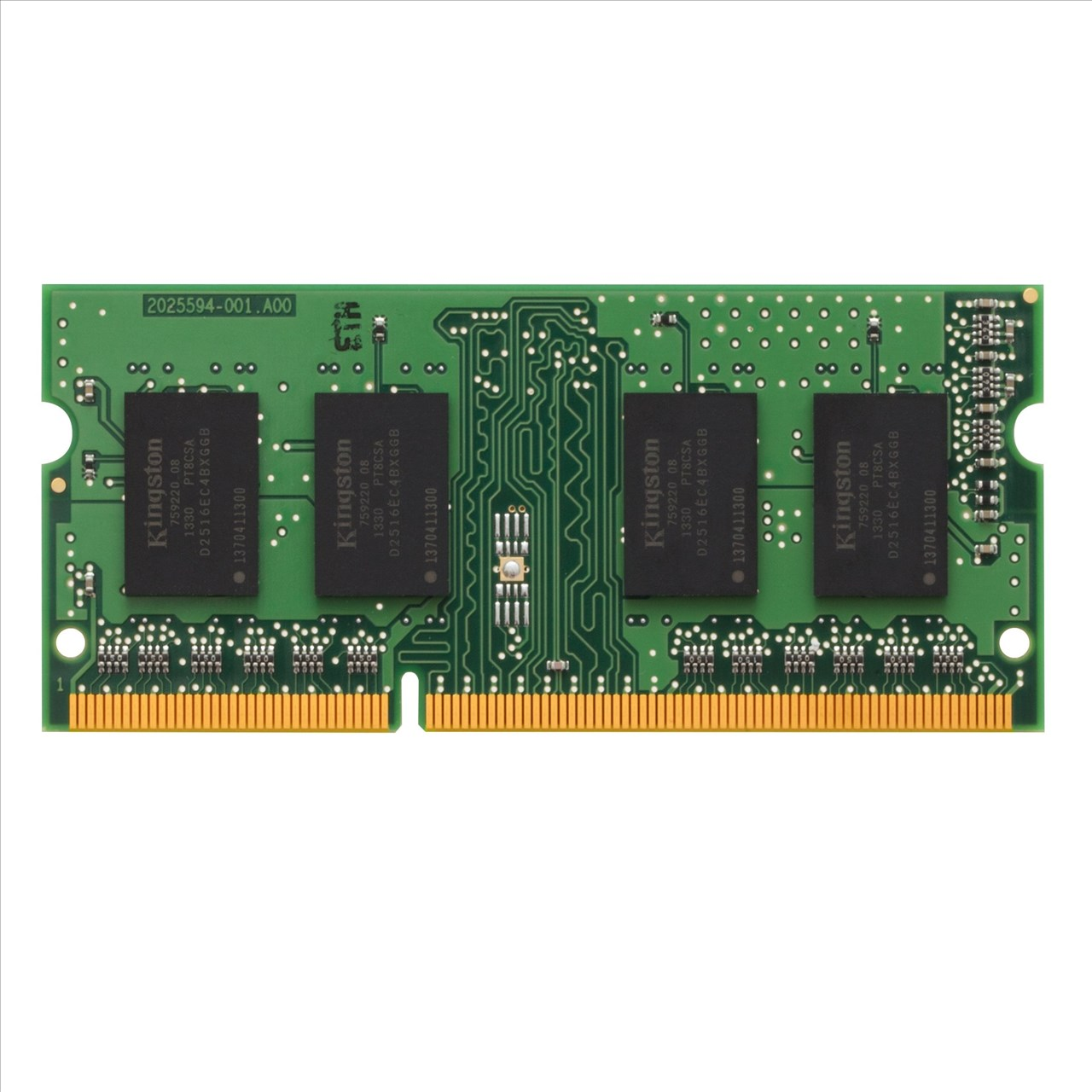 *╯新風尚潮流╭*金士頓筆記型記憶體 2G 2GB DDR3-1333 終身保固 KVR13S9S6/2