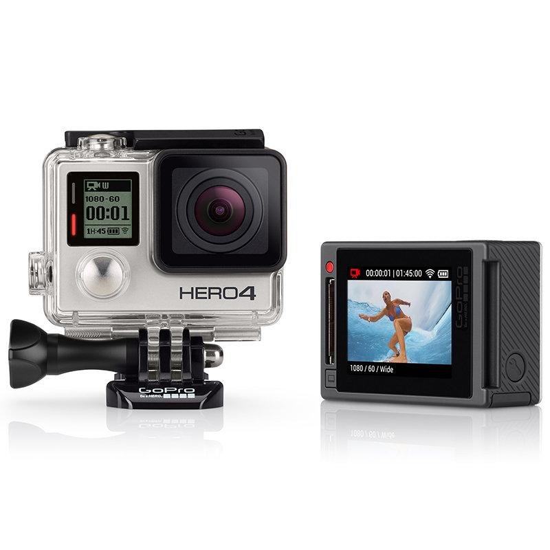 ◎相機專家◎ GoPro HERO4 專業觸控銀色版 CHDHY-401 送原廠電池 加購配件另優惠 總代理公司貨