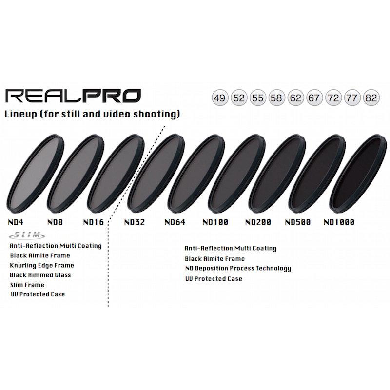 ◎相機專家◎ Kenko RealPRO ND64 55mm 防水抗油汙多層膜減光鏡 減6格 正成公司貨