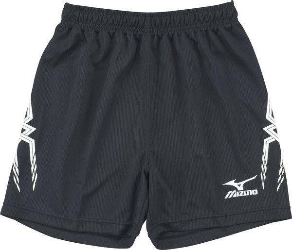 [陽光樂活=]MIZUNO 美津濃 運動系列 女排球褲 V2TB3C1009 黑