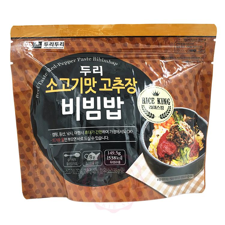 韓國 DOORI DOORI 石鍋拌飯 牛肉風味(149.5g)【庫奇小舖】