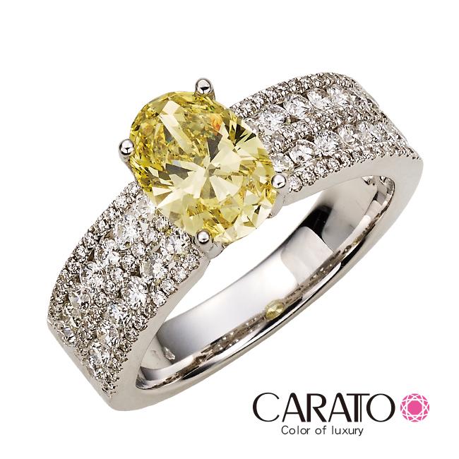 【CARATO】Brilliant-克拉多-精選彩鑽戒指