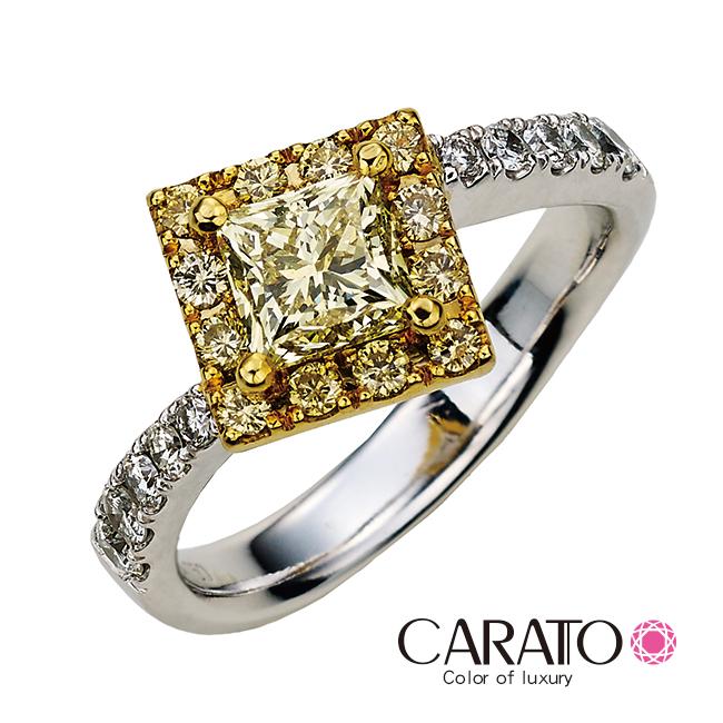 【CARATO】Shiny Princess-克拉多-閃亮公主-精選彩鑽戒指