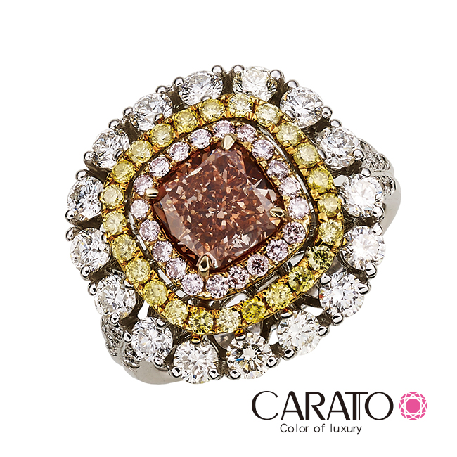 【CARATO】Sparkle-克拉多-精選彩鑽戒指